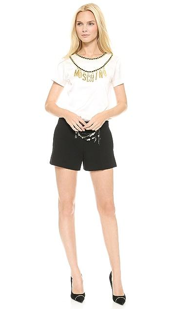 Moschino Short Sleeve Top
