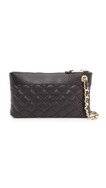 Moschino Leather Clutch