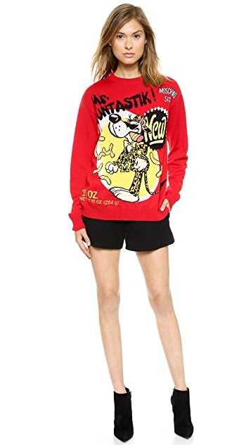 Moschino Merino Mr. Fantastik Sweater