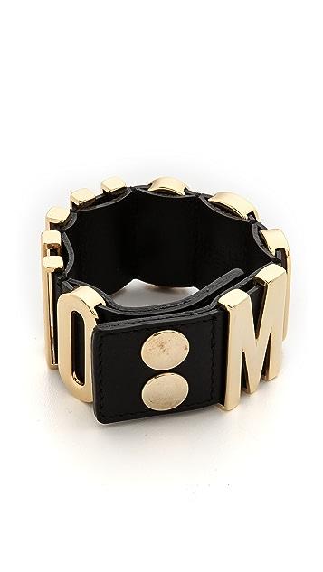 Moschino Moschino Logo Bracelet