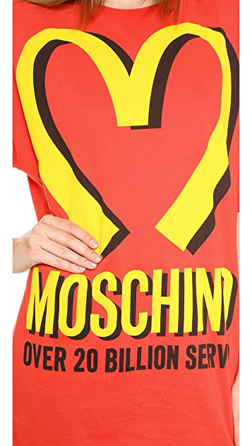 194ea515cc8 ... Moschino Moschino Arches T-Shirt Dress