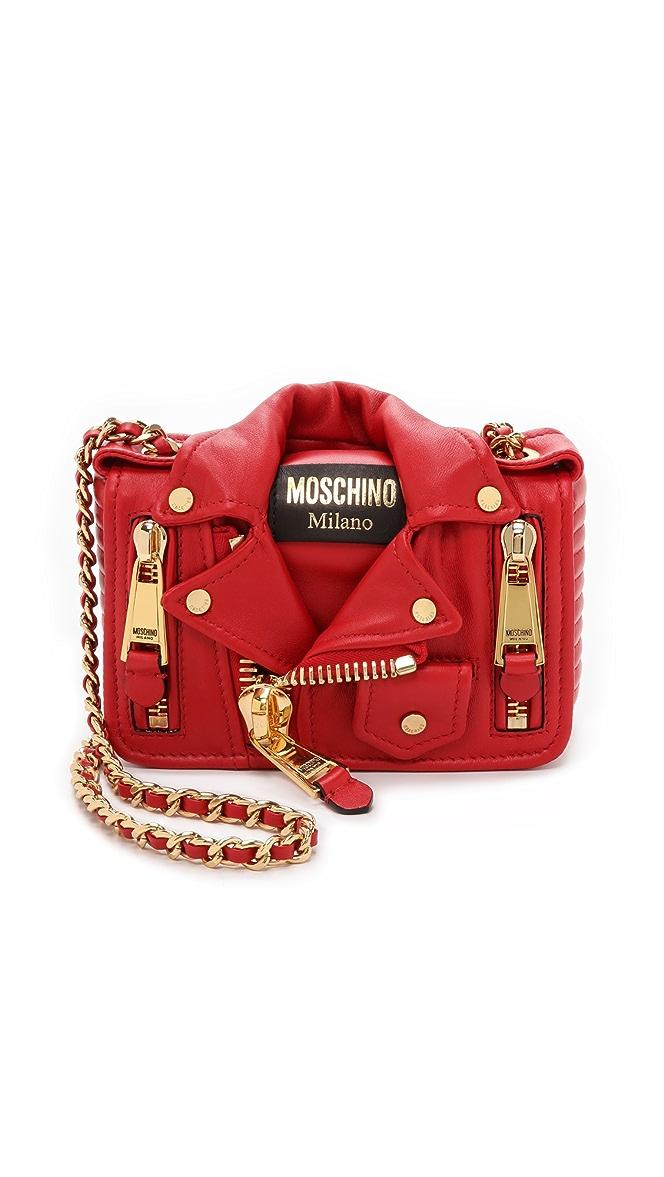 9174f1acb2d Moschino Moto Jacket Shoulder Bag | SHOPBOP