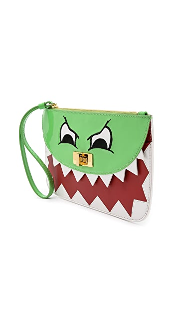 Moschino Cheap and Chic Wristlet