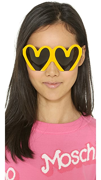 Moschino Statement Sunglasses