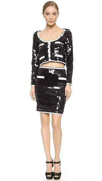 Moschino Sequin Skirt