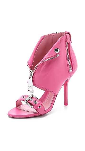 Moschino Leather Sandals