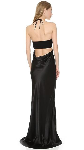 Moschino Cutout Bodice Dress