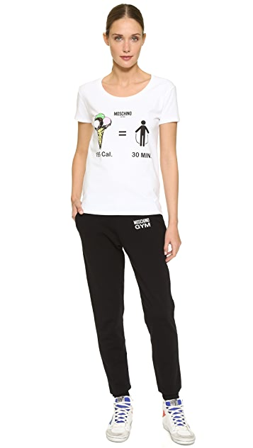 Moschino Moschino Gym T-Shirt