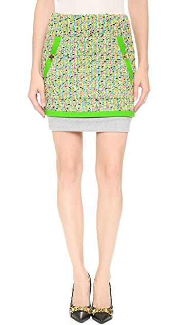 Moschino Tweed Miniskirt