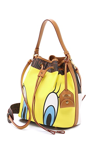 Moschino Tweety Bird Bucket Bag