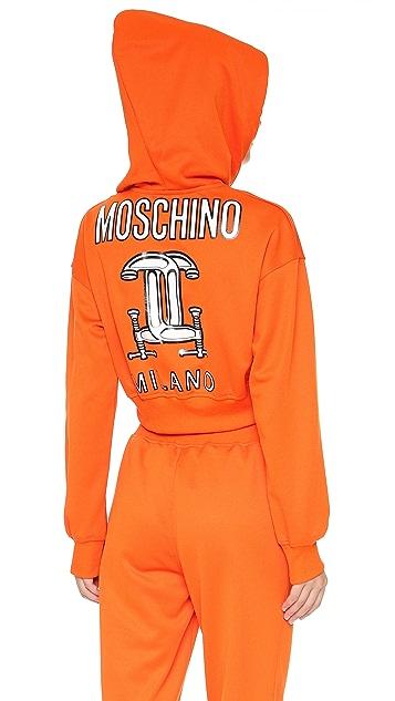 Moschino Hooded Sweatshirt