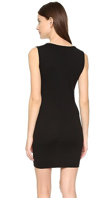 Moschino Printed Sleeveless Knit Dress