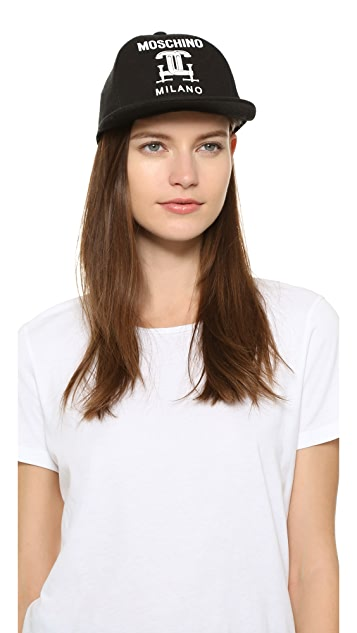 Moschino Printed Cotton Cap