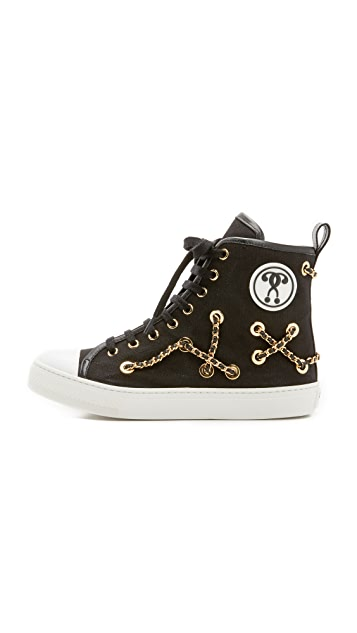 Moschino Chain Sneakers