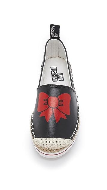 Moschino Love Moschino Bow Espadrilles