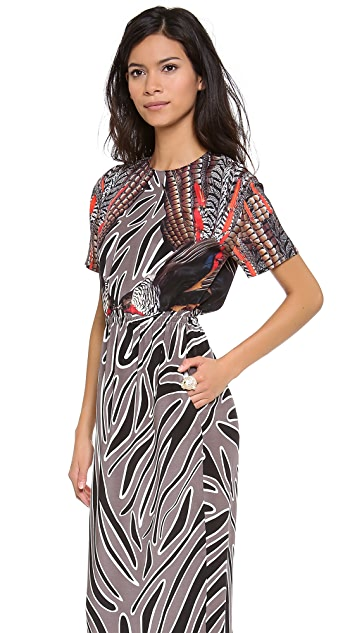 Mother of Pearl Irvette Gathered Waist Dress