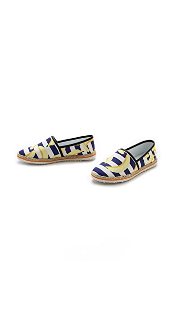 Mother of Pearl Lagan Printed Espadrilles