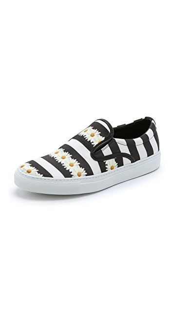 Mother of Pearl Achilles Slip On Sneakers