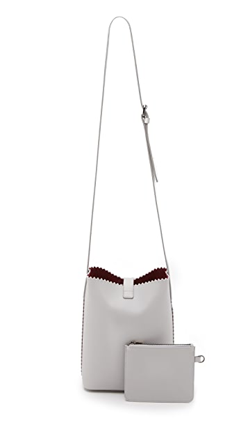 Mother of Pearl Cross Body Bag