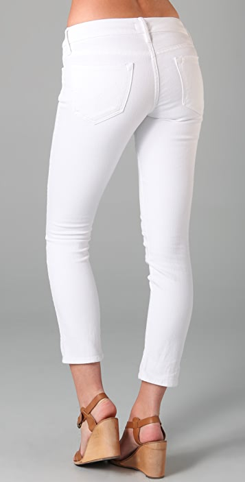 MOTHER The Looker Cropped Skinny Jeans