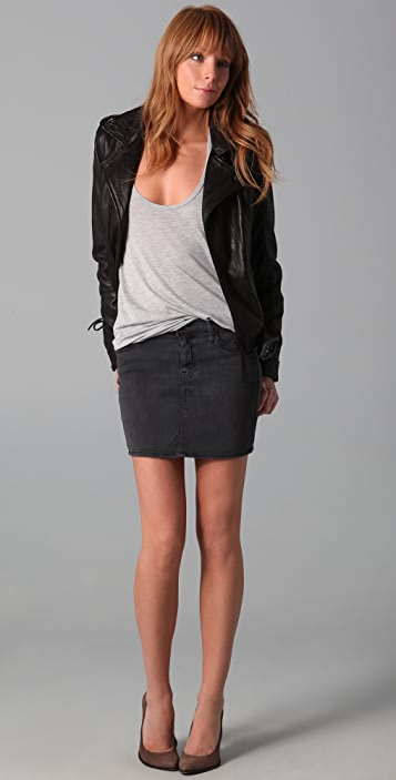 MOTHER Skinny, Not Skinny Skirt