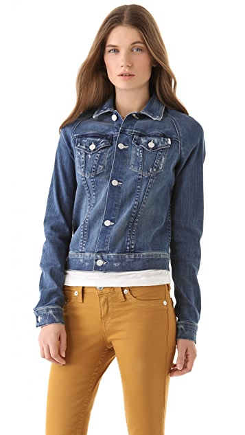 MOTHER Bully Denim Jacket