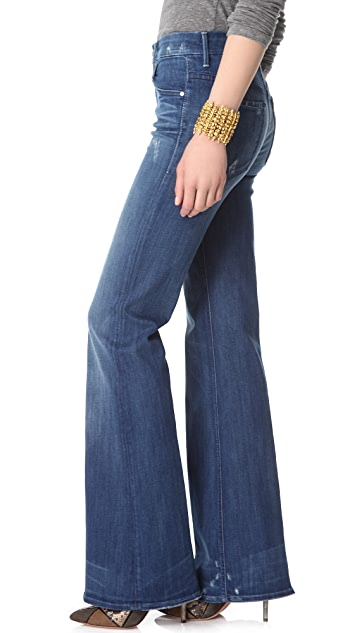 MOTHER Mellow Drama Bell Bottom Jeans