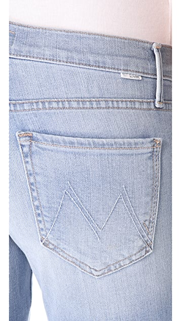 MOTHER The Rascal Crop Straight Leg Jeans
