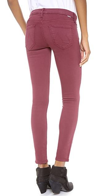 MOTHER The Looker Skinny Ankle Jeans