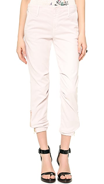 MOTHER The Misfit Gathered Ankle Pants