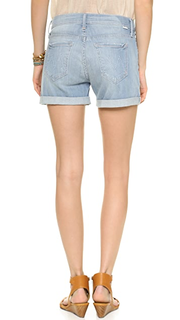 MOTHER The Dropout Rolled Shorts