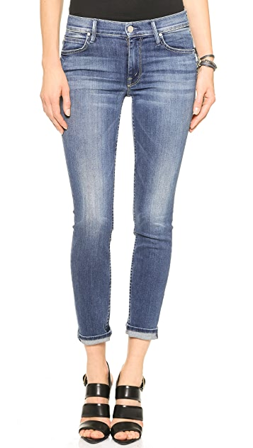MOTHER The Muse Ankle Straight Skinny Jeans