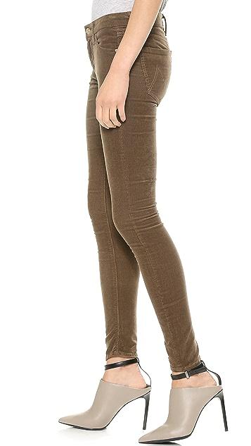 MOTHER The Looker Skinny Corduroy Pants