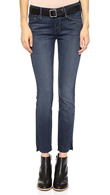 741e99c2c66 MOTHER The Vamp Skinny Ankle Slit Jeans | SHOPBOP