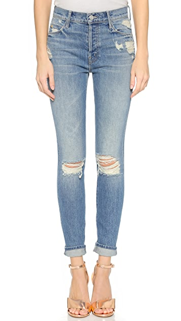 MOTHER CANDICE SWANEPOEL + MOTHER Stunner Jeans