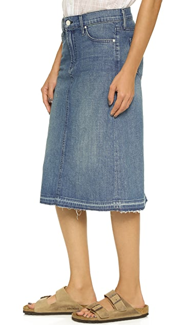 MOTHER The Dropout Skirt