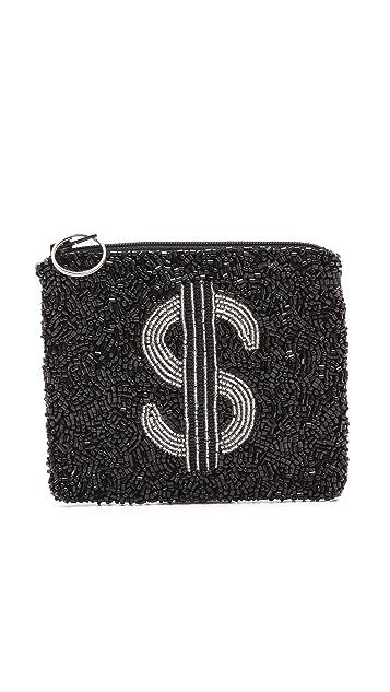 MOYNA Dollar Sign Pouch