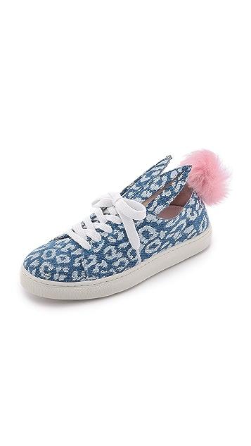 Minna Parikka Fur Tail Sneakers