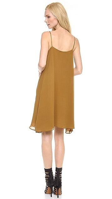 M.PATMOS Camo Sequin Slip Dress