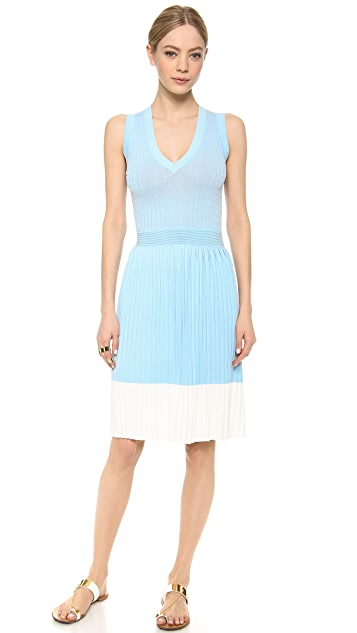 M.PATMOS Grid V Dress