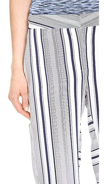 M.PATMOS Striped Pajama Pants