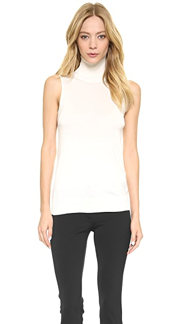 M.PATMOS Sleeveless Turtleneck Top