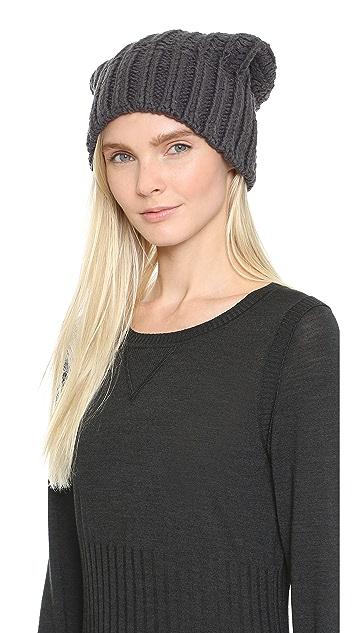 M.PATMOS Hand Knit Reversible Hat