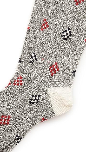 Mr. Gray Cowichan Wool Socks