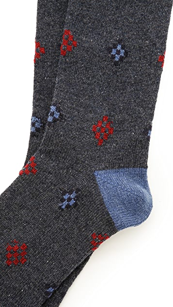 Mr. Gray Cowichan Wool Socks
