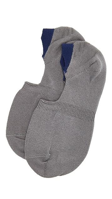 Mr. Gray Loafer Socks
