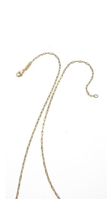 Monica Rich Kosann Delicate Belcher Chain Necklace