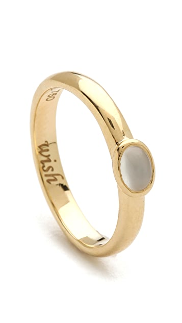 Monica Rich Kosann Wish Moonstone Cabochon Ring