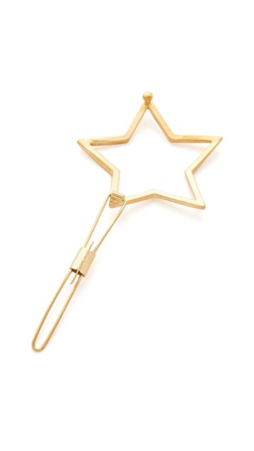 Mrs. President & Co. The Shiny Star Barrette