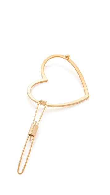 Mrs. President & Co. The Golden Heart Barrette